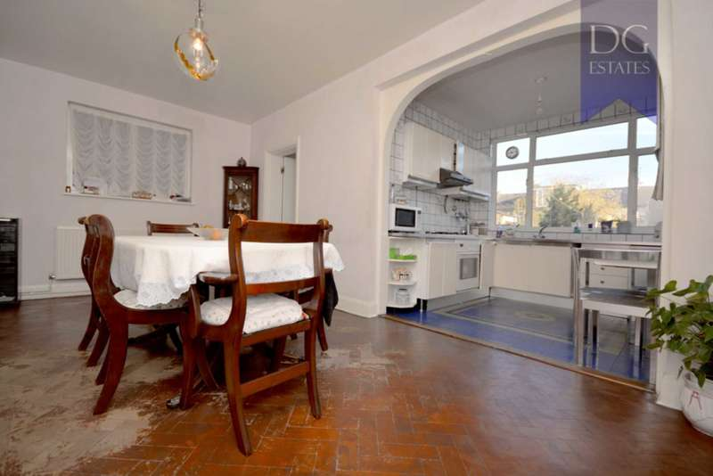 3 Bedrooms Semi Detached House for sale in Palmerston Road, Bowes Park