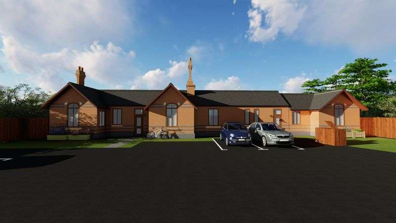 2 Bedrooms Semi Detached Bungalow for sale in Station Road, Kimberley