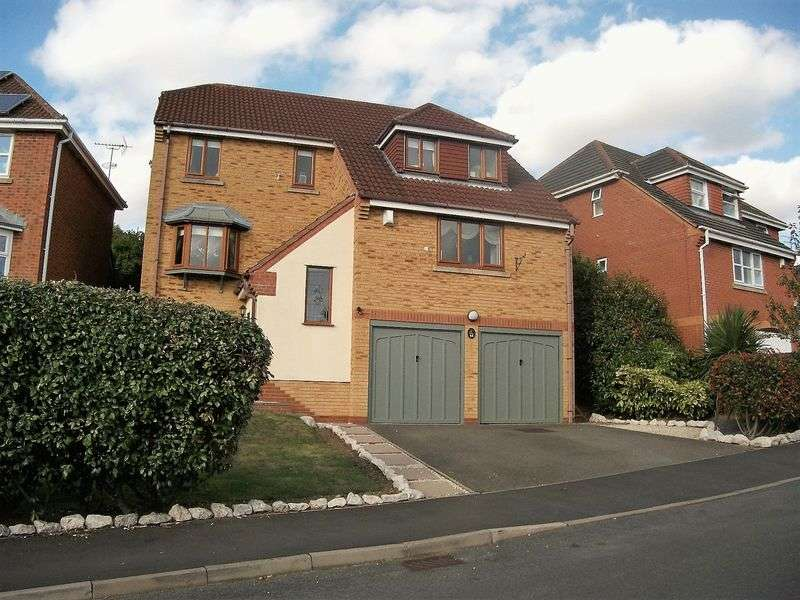4 Bedrooms Detached House for sale in Hillside, Hartshill, Nuneaton, CV10 0NX
