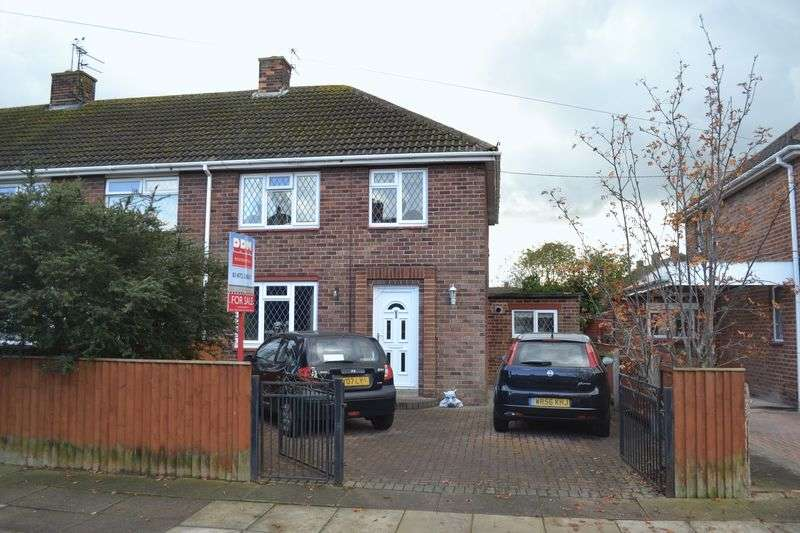3 Bedrooms Semi Detached House for sale in Edge Avenue, Grimsby