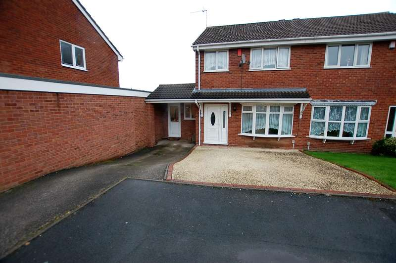 3 Bedrooms Semi Detached House for sale in Camden Way, Kingswinford, West Midlands, DY6 7SE
