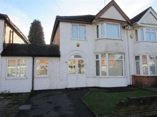 3 Bedrooms Semi Detached House for sale in Olton Road, Shirley, Solihull