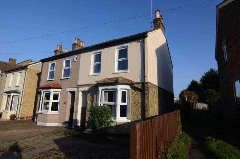 2 Bedrooms Semi Detached House for sale in Birkbeck Road, Sidcup, DA14 4DE