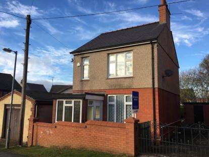 3 Bedrooms Detached House for sale in Bryn Glas, Rhosllanerchrugog, Wrexham, Wrecsam, LL14