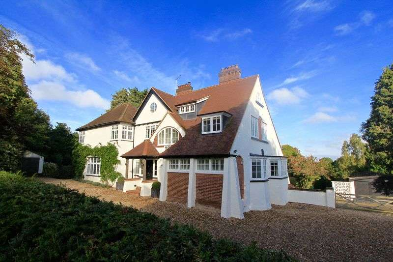 5 Bedrooms Detached House for sale in Grimms Hill, Great Missenden