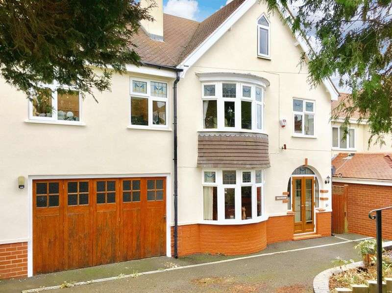 4 Bedrooms Detached House for sale in Bretby Lane, Bretby, Burton-On-Trent