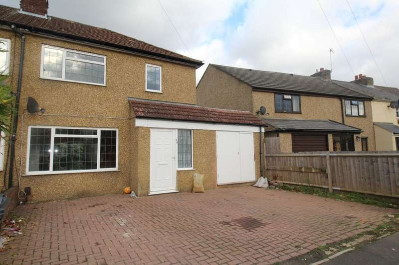 4 Bedrooms Semi Detached House for sale in New Road, Hanworth, Feltham, TW13