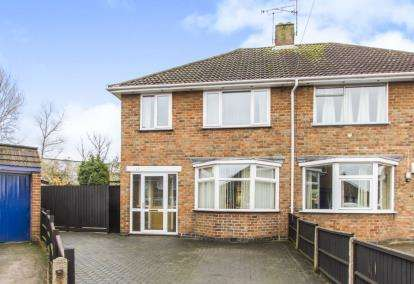 3 Bedrooms Semi Detached House for sale in Lydford Road, Leicester