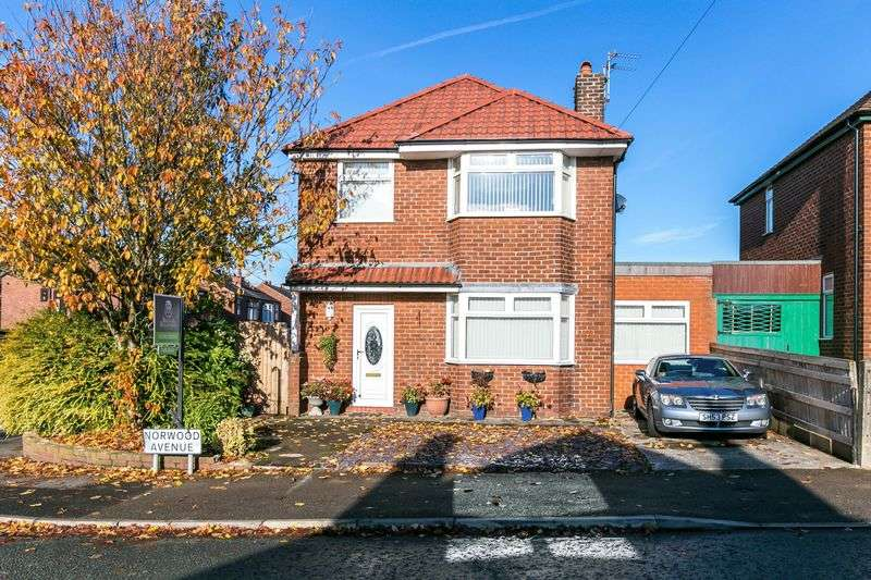 3 Bedrooms Detached House for sale in Norwood Avenue, Wigan, WN6 7PW