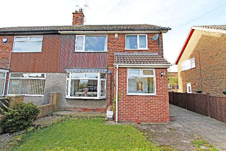 3 Bedrooms Semi Detached House for sale in Spencer Drive, South Yorkshire, S65 4PZ