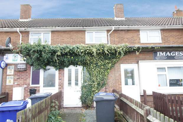 3 Bedrooms Terraced House for sale in St Lukes Road, Burton-On-Trent, Staffordshire, DE13 0LN