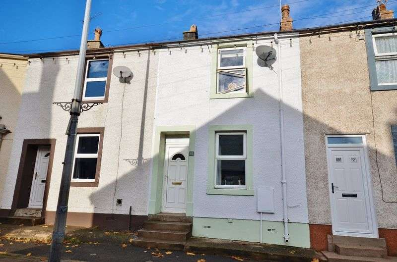 2 Bedrooms Terraced House for sale in King Street, Aspatria