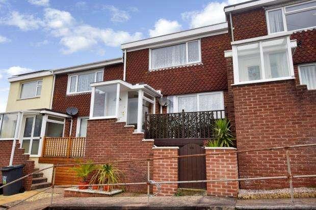 2 Bedrooms Terraced House for sale in Waterleat Avenue, Paignton, Devon