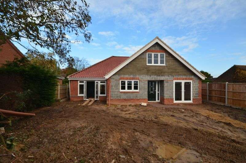 4 Bedrooms Detached House for sale in Little Plumstead, Norwich