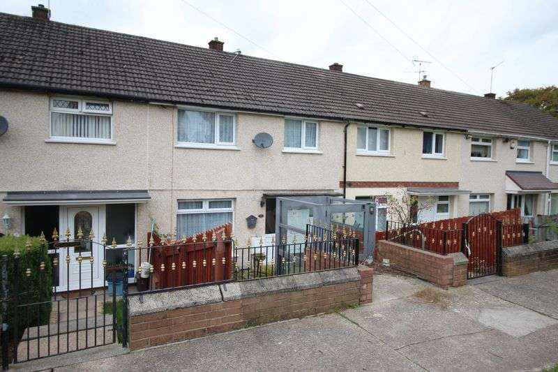 3 Bedrooms Terraced House for sale in Rother Close, Bettws, Newport