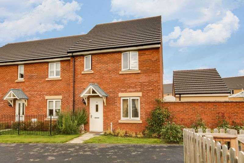3 Bedrooms Semi Detached House for sale in Bloomery Circle, Newport