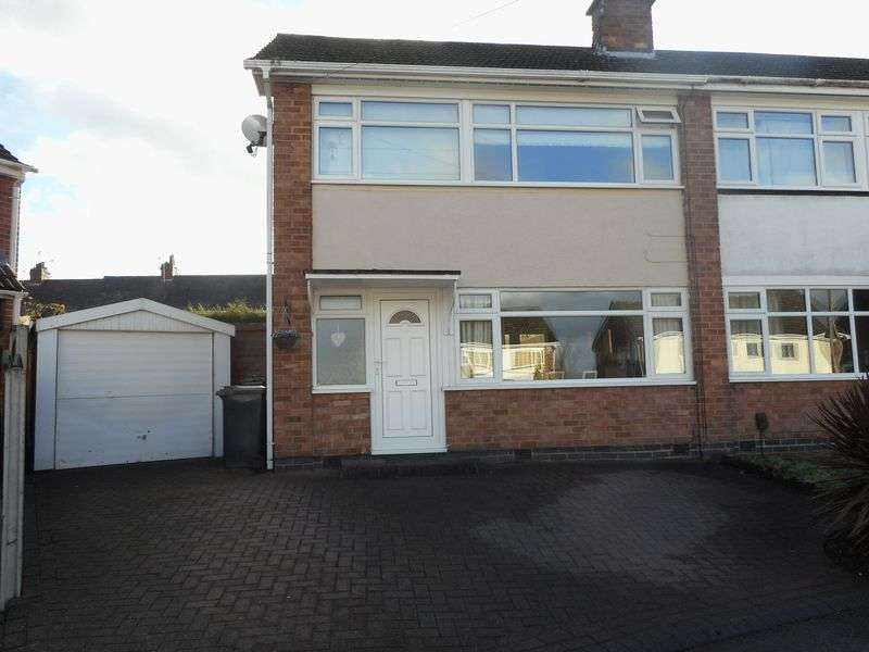 3 Bedrooms Semi Detached House for sale in Cheviot Close, Nuneaton