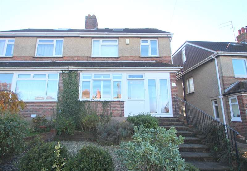 4 Bedrooms Semi Detached House for sale in Northease Drive, Hangleton, Hove, BN3