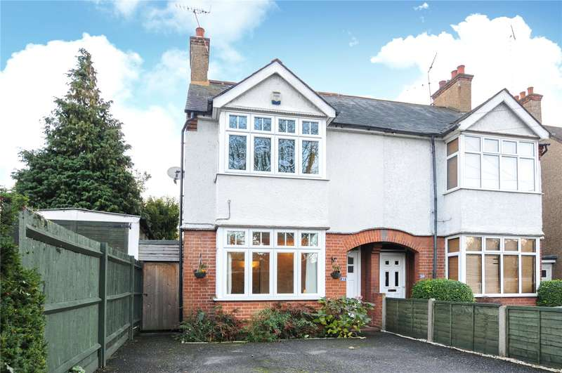 3 Bedrooms Semi Detached House for sale in Harefield Road, Rickmansworth, Hertfordshire, WD3