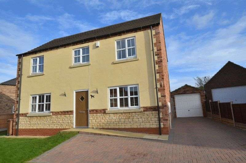 4 Bedrooms Detached House for sale in Millstone Close, Kirton Lindsey, Gainsborough