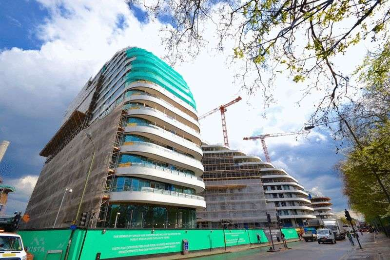2 Bedrooms Flat for sale in Cascade House in Vista, 348 Queenstown Rd, Chelsea SW8
