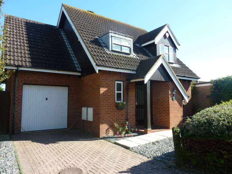 3 Bedrooms Detached House for sale in Chiltern Close, Barton on Sea, New Milton, Hampshire, BH25