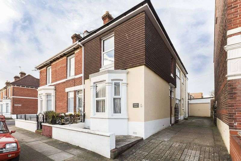 3 Bedrooms Semi Detached House for sale in Albert Road, Portsmouth