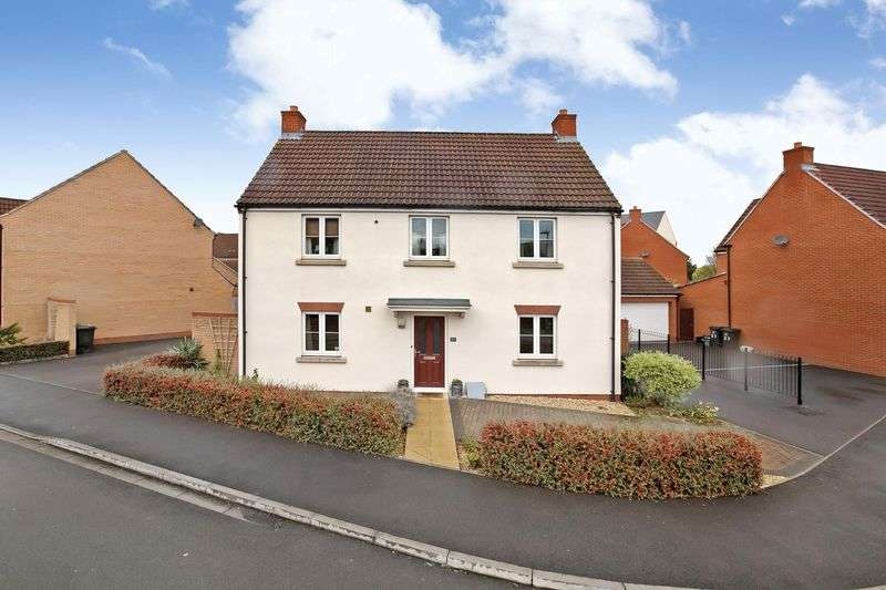 4 Bedrooms Detached House for sale in Simmental Street, Stockmoor, Bridgwater
