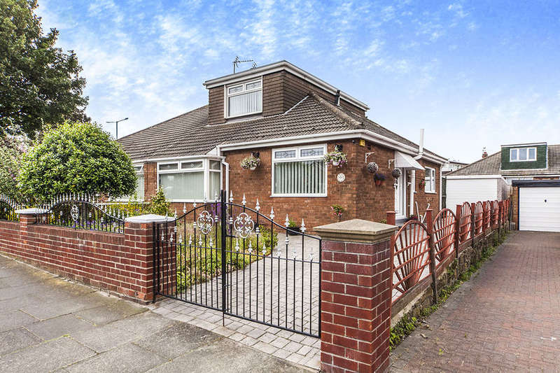 3 Bedrooms Semi Detached Bungalow for sale in Highfield Road, Eston, TS6