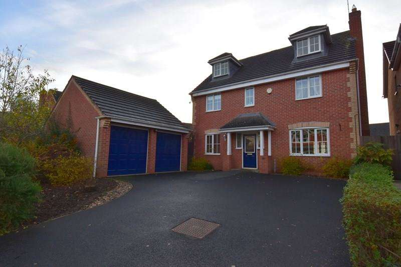 5 Bedrooms Detached House for sale in Mallard Place, Droitwich