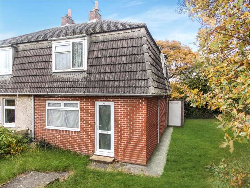 2 Bedrooms Semi Detached House for sale in Alma Road, Malabar, Truro
