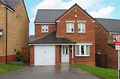 3 Bedrooms Detached House for sale in James Walton Drive, Halfway, Sheffield, South Yorkshire
