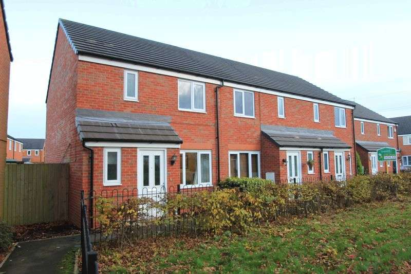 3 Bedrooms Terraced House for sale in Fieldhouse Way, Stafford