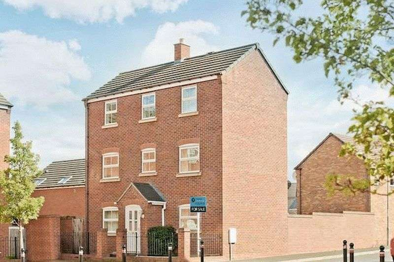 4 Bedrooms Detached House for sale in 11 Bricklin Mews, Hadley, Telford, Shropshire, TF1 5LU