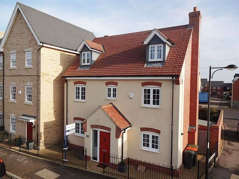 5 Bedrooms Detached House for sale in Brooklands Avenue, Wixams