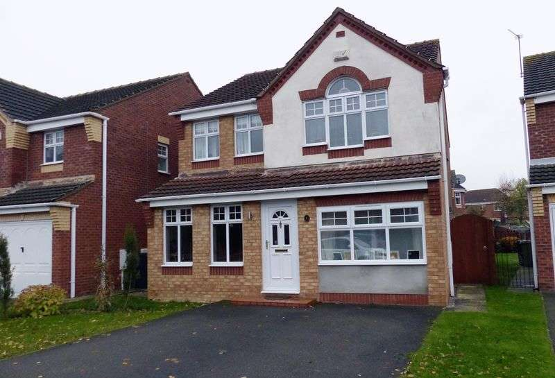 4 Bedrooms Detached House for sale in Wentworth Close, Saxilby