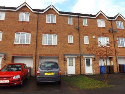 4 Bedrooms Town House for sale in Godwin Way, Stoke-On-Trent, Staffordshire