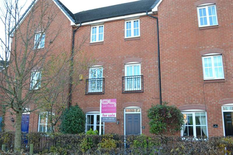 4 Bedrooms Town House for sale in Abberley Grove, The Crossing, Stafford