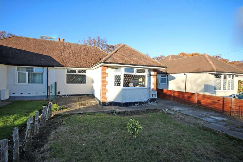 2 Bedrooms Semi Detached Bungalow for sale in Dickens Drive, Addlestone, Surrey, KT15