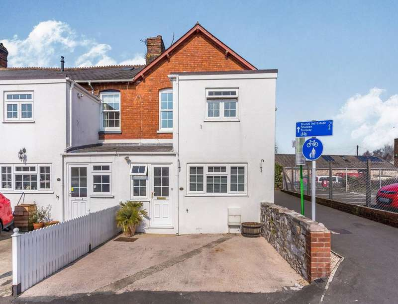 3 Bedrooms Semi Detached House for sale in Salisbury Road, Newton Abbot, TQ12