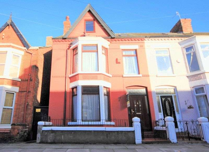 4 Bedrooms Terraced House for sale in Karslake Road, Mossley Hill, Liverpool, L18