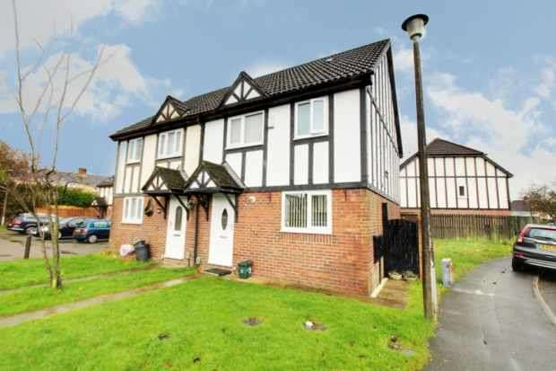 3 Bedrooms Semi Detached House for sale in Cantref Court, Swansea, West Glamorgan, SA5 5DF