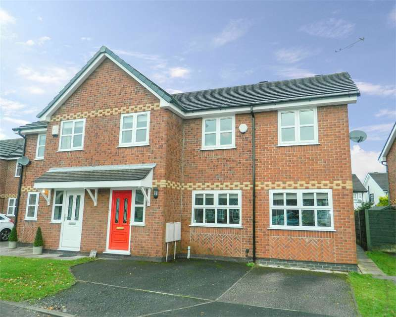 4 Bedrooms Semi Detached House for sale in Redpoll Close, Worsley, Manchester