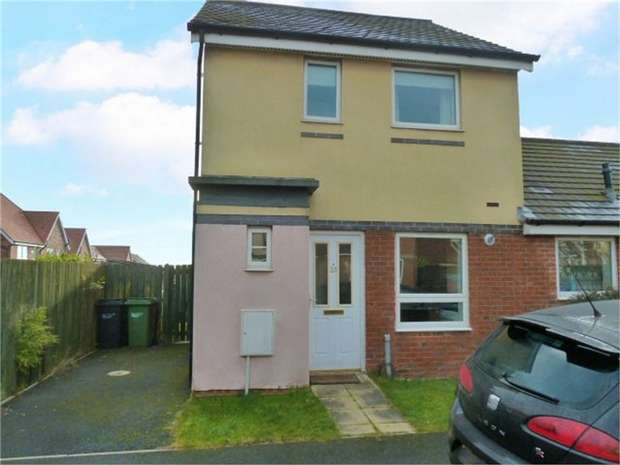 2 Bedrooms Semi Detached House for sale in Howard Walk, Ashington, Northumberland