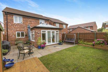 4 Bedrooms Detached House for sale in Humber Drive, Holmes Chapel, Crewe, Cheshire