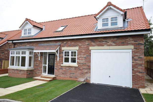 3 Bedrooms Semi Detached Bungalow for sale in (Plot 3) Racecourse Road, East Ayton, Norh Yorkshire YO13 9HT