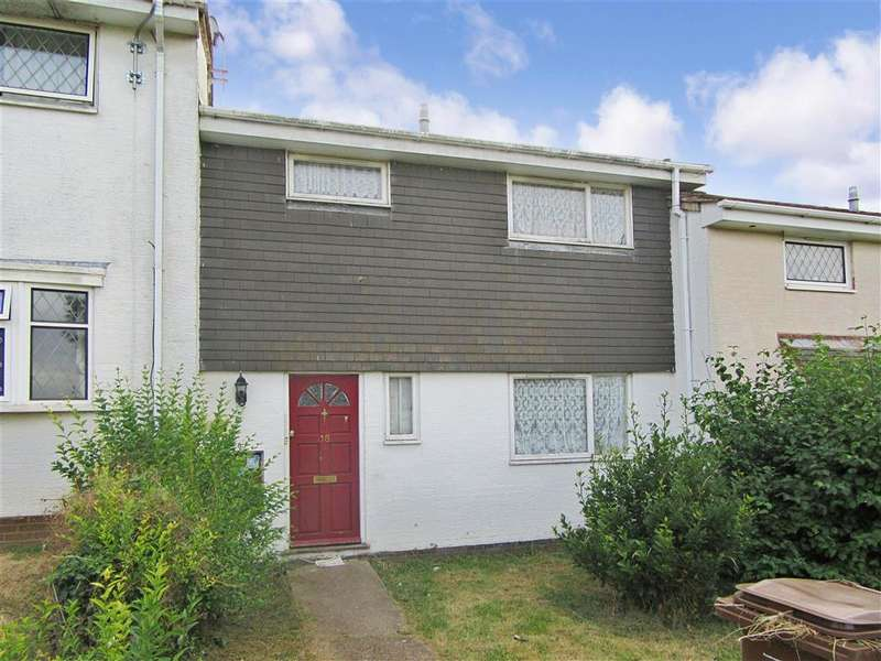 3 Bedrooms Terraced House for sale in Spitfire Close, Walderslade, Chatham, Kent