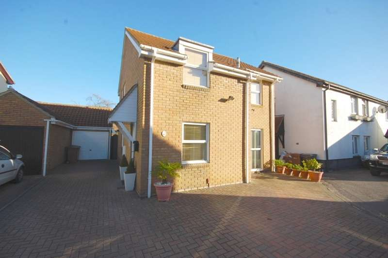 4 Bedrooms Detached House for sale in Sutton Mead, Chelmer Village, Chelmsford, CM2