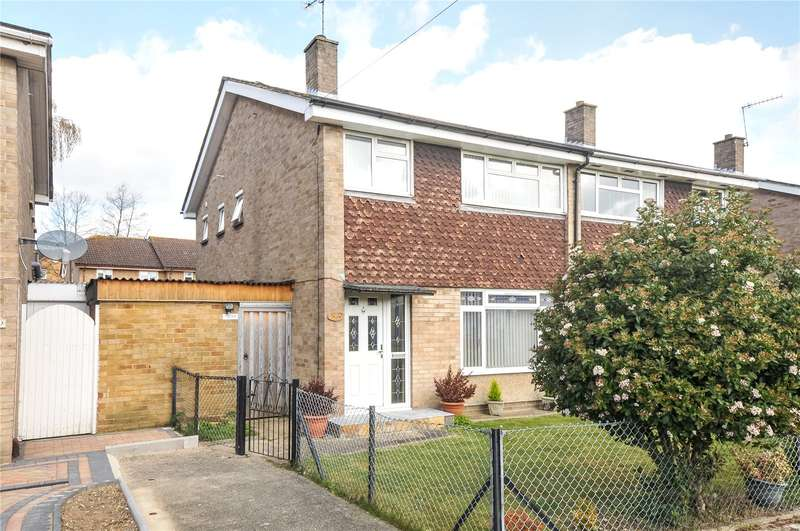 3 Bedrooms Semi Detached House for sale in Hayman Crescent, Hayes, Middlesex, UB4
