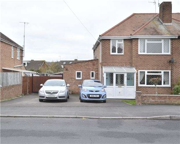 3 Bedrooms Semi Detached House for sale in Dinglewell, Hucclecote, Gloucester, GL3 3HP